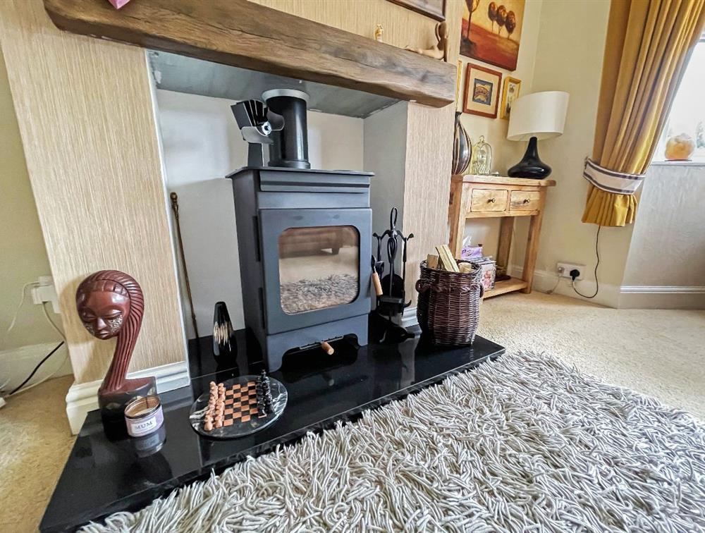 Living Room - Log Burner